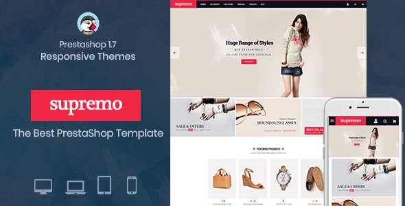 Spremo Fashion - Fashion Responsive Prestashop 1.7 theme            TFx Stan Zachary