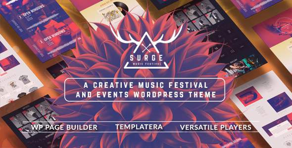 Surge - Music Festival & Event Theme            TFx Roland Raymund