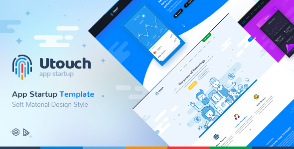 Utouch Startup - Multi-Purpose Business Technology and Digital Marketing Joomla Template            TFx Hale Rin