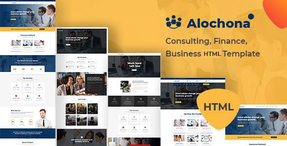 Alochona - Consulting, Finance, Business HTML5 Template            TFx Conway Gervase