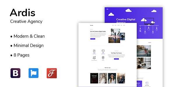 Ardis – Creative Agency HTML Template            TFx Kory Winston