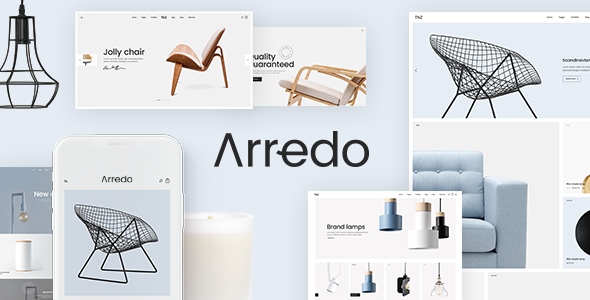 Arredo – A Clean WooCommerce WordPress Theme            TFx Kingsley Dacre