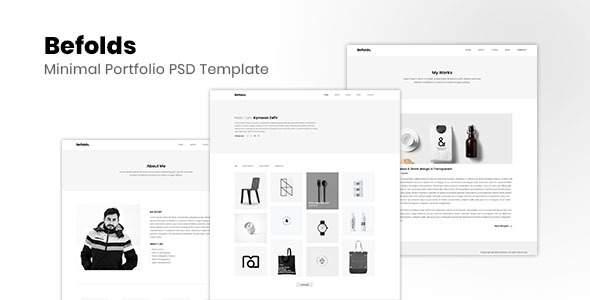 Befolds – Minimal PSD Template            TFx Rowland Reynold