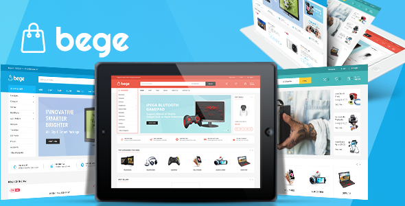 Bege – eCommerce Bootstrap Template            TFx Farrell Pat