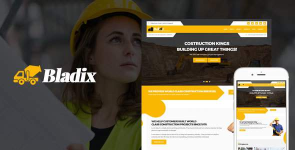 Bladix - Construction and Building HTML Template            TFx Roly Dolph