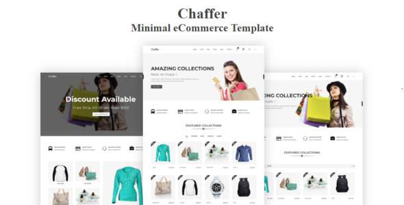 Chaffer – Minimal eCommerce Template            TFx Sacheverell Quin
