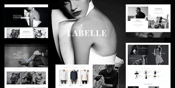 Clothing & Fashion Shopify Theme - Labelle            TFx Winfred Sulaiman