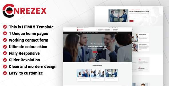 Conrezex - Consulting & Business HTML Template            TFx Tranter Lennie
