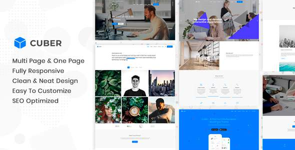 Cuber | Responsive Multipurpose WordPress Theme            TFx Isamu Tarou