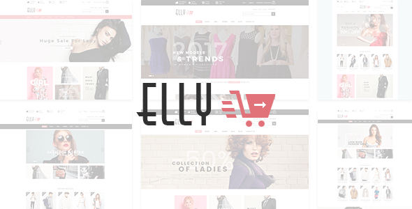 Elly - Fashion eCommerce Bootstrap 4 Template            TFx Manny Sunny