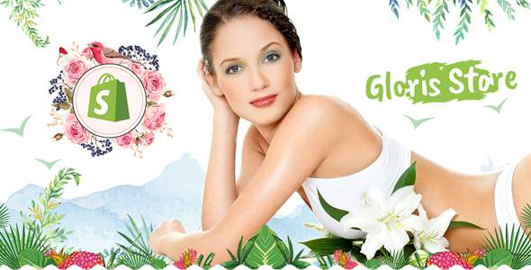 GLOWRIS | Beauty Spa, Health Spa Shopify Theme            TFx Leslie Chance