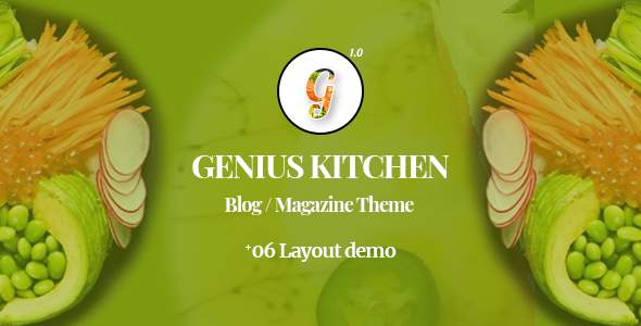 Genius Kitchen – News Magazine WordPress Theme            TFx Kevork William