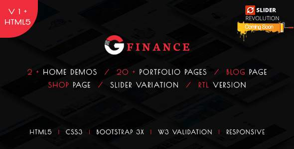 Groo - Multipurpose Business, Finance and Professional Services HTML5 Template            TFx Jojo Komang
