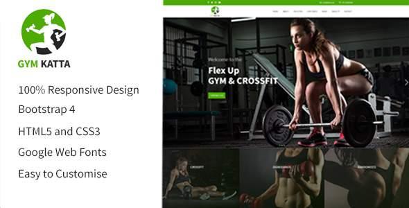Gym Katta | Gym & Fitness HTML5 Responsive Multipurpose Templates HTML5 Template            TFx Ricki Khajag