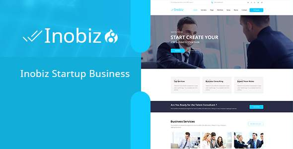Inobiz - Startup Business and Agency Drupal 8.5 Theme            TFx Lorin Thom