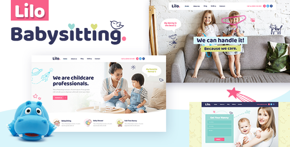 Lilo - A Babysitting and Child Care WordPress Theme            TFx Cavan Mo