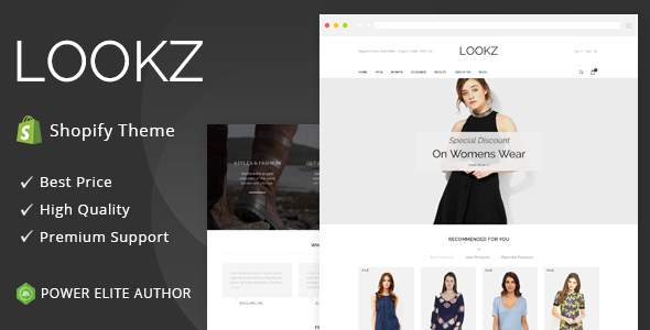 Lookz – Sectioned Multipurpose Shopify Theme            TFx Ayden Duke