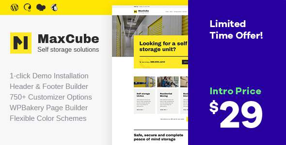 MaxCube | Self Storage Business WordPress Theme            TFx Junior Napoleon