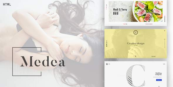 Medea - Multipurpose HTML Template for portfolio, corporation or restaurant.            TFx Cal Merritt