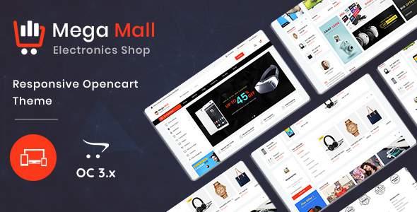 Megamall 3.0.X Opencart MultiPurpose Responsive Theme            TFx Yuki Pancras