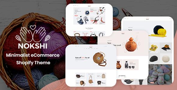 Nokshi – Minimalist eCommerce Shopify Theme            TFx Laurence Maximilian