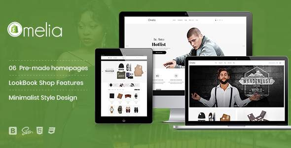 Omelia – Minimalist Style, Fashion LookBook Shopify Theme            TFx Leroy Yuuto