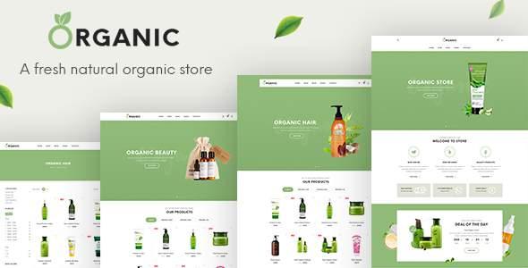 Organic - Beauty Responsive Prestashop 1.7 Theme            TFx Lalawethika Lorn