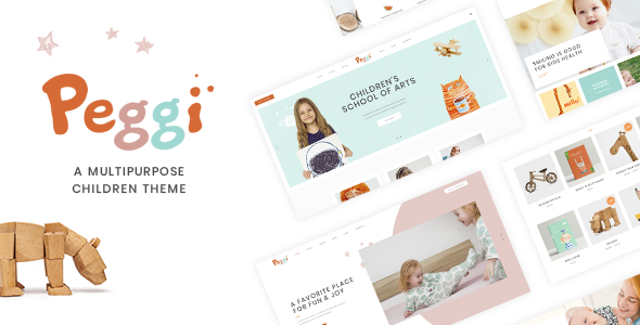Peggi - A Multipurpose WordPress Children Theme            TFx Mackenzie Korbin