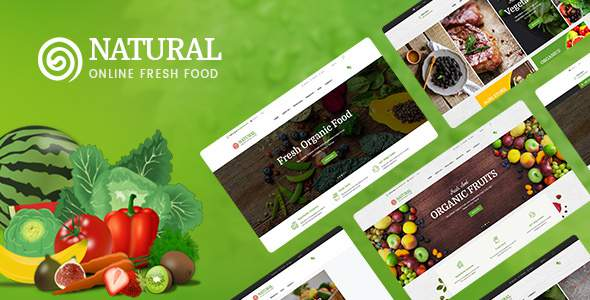 Pts Natural – a beautiful Prestashop Food Theme            TFx Tanner Gall