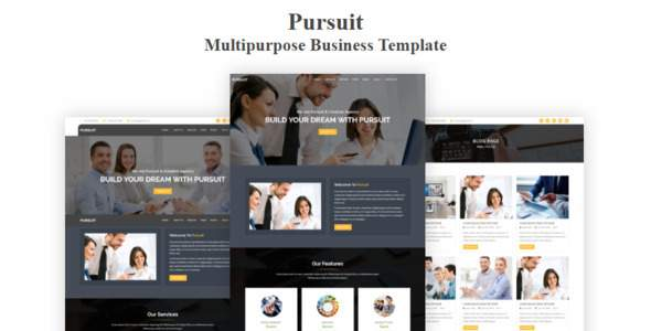 Pursuit - Multipurpose Business Template            TFx Haven Quincy