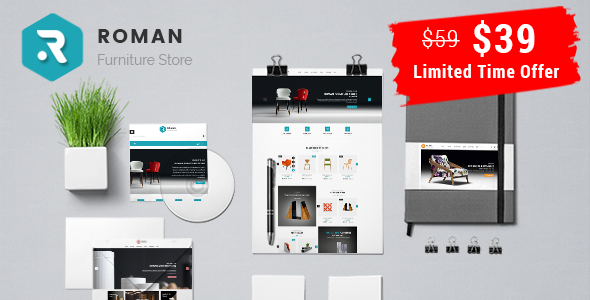 Roman – Interior Furniture Responsive Prestashop 1.7 Theme            TFx Lucan Donny