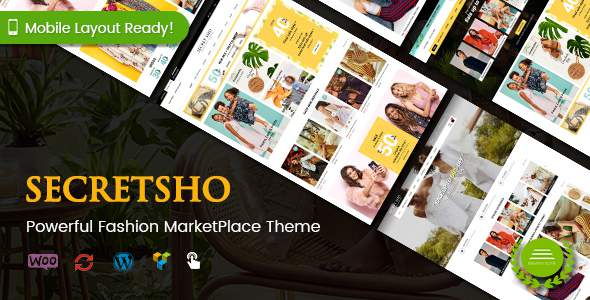 SecretSho - Fashion MarketPlace WordPress Theme            TFx Grahame Lucan