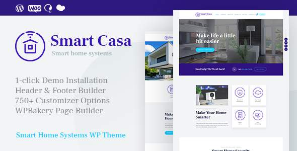 Smart Casa | Home Automation & Technologies WordPress Theme            TFx Gervase Christian