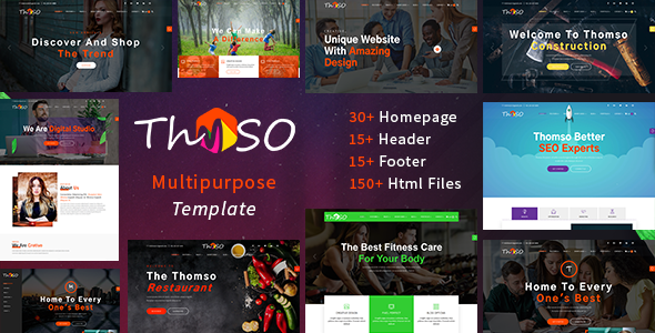 Thomso – Multipurpose HTML5 Template            TFx Jewell Zack