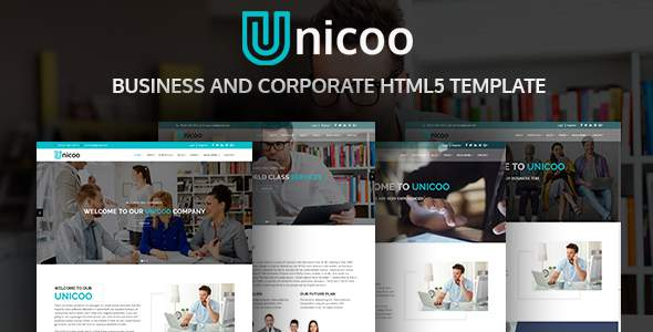 Unicoo | Business And Corporate HTML5 Template            TFx Elliot Clancy
