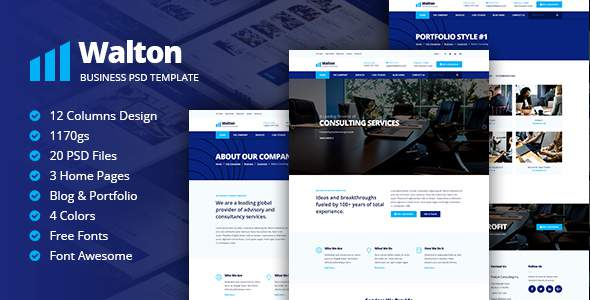Walton Business & Corporate Template            TFx Drew Mack