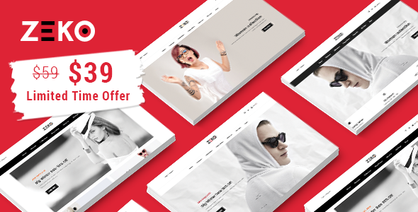 Zeko - Clean Fashion Shopping Responsive Prestashop 1.7 Theme            TFx Benedict Aldous
