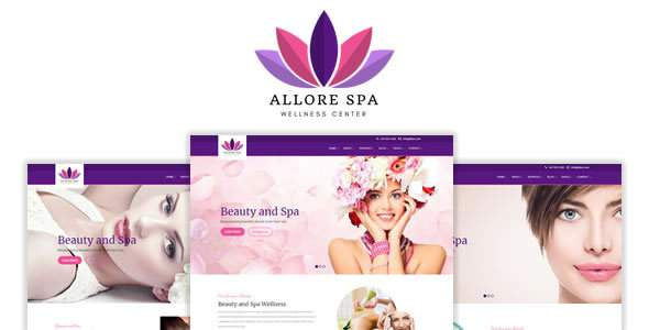 Allore - Beauty and Spa HTML Template            TFx Sefton Buddy