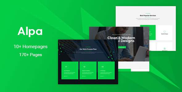 Alpa - Responsive MultiPurpose HTML5 Template | Business            TFx Rupert Quintilian