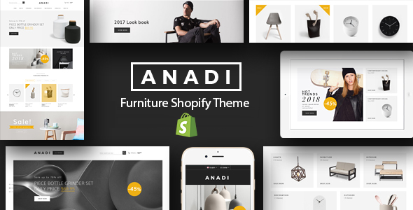 Anadi - Furniture Shopify Theme            TFx Hachirou Billie