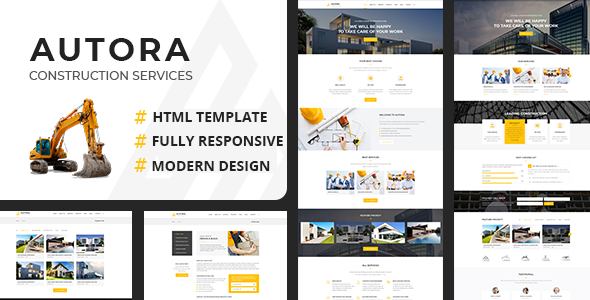 Autora - Construction Business HTMl Template            TFx Kenta Ojigkwanong
