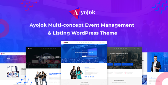 Ayojok - Events and Conference WordPress Theme            TFx Colton Owen