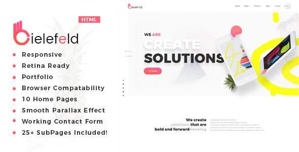 Bielefeld - Multipurpose Creative Portfolio Template            TFx Chaz Esmund