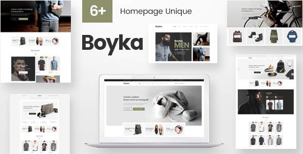 Boyka - Fashion Responsive PrestaShop Theme            TFx Errol Albert