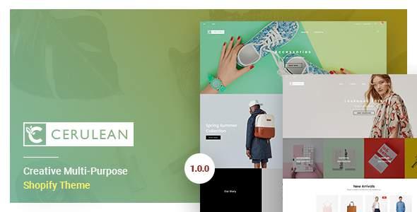 Cerulean - Creative Multi-Purpose Shopify Theme            TFx Dallas Jayden