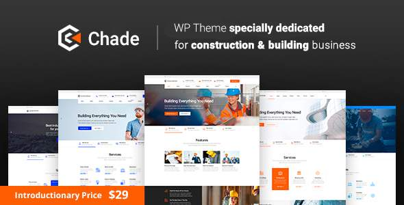 Chade - Construction WordPress            TFx Lee Shirley