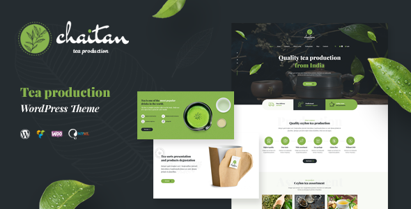 Chaitan - Tea Production Company WordPress Theme            TFx Jun'ichi Jarod