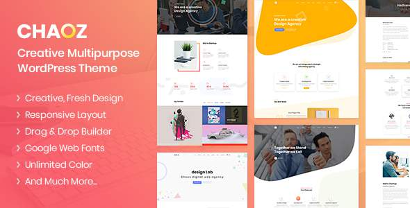 Chaoz - Creative Multi-Purpose WordPress Theme            TFx Antiman Arsen