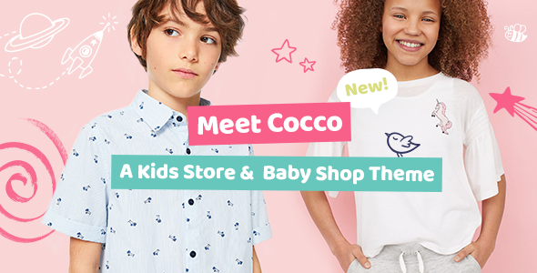 Cocco - A Kids Store and Baby Shop WooCommerce Theme            TFx Kenith Marmaduke