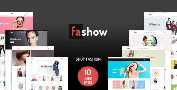 Fashow – Minimalist eCommerce PSD Template            TFx Carloman Barnaby